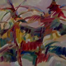 autumn-jumping-2016-oil-on-canvas-12x16