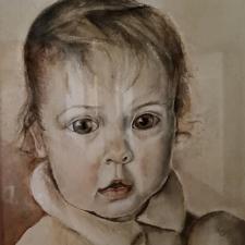 Melissa; baby portrait