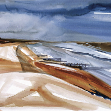 the-beach-1998-watercolour-24-x2922